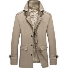 Áo jacket dáng dài đệm bông AK89