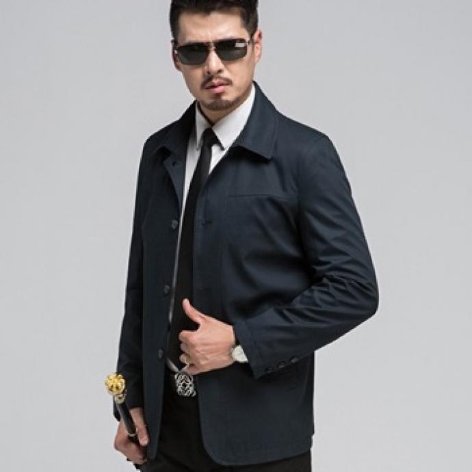 Áo khoác Jacket dáng dài AK69