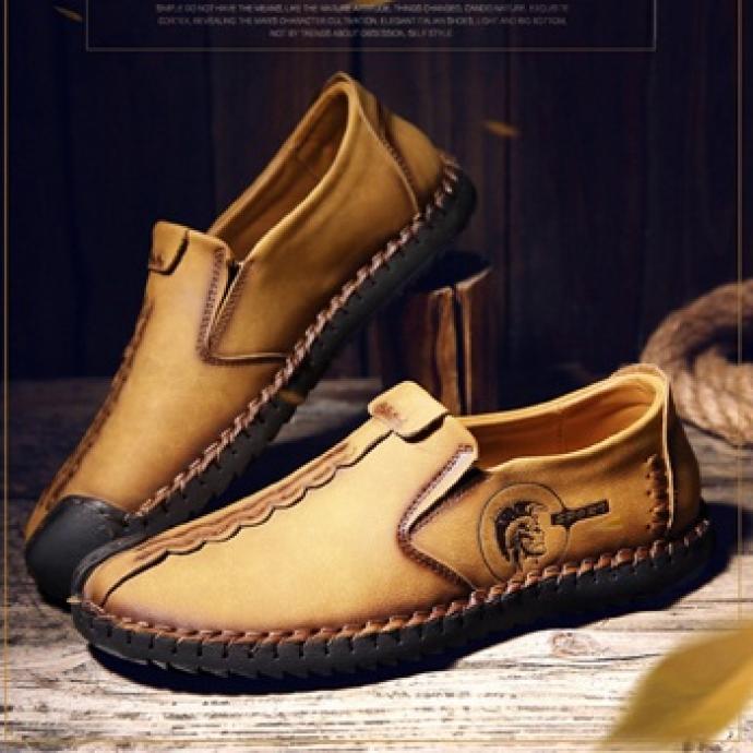 Giày da bò đế khâu vr42