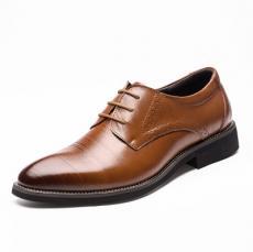 Giày da công sở vân gỗ