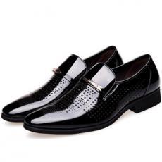 Giày da nam công sở thoáng khí GS02
