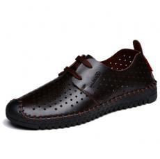 Giày da nam thoáng khí Gl53