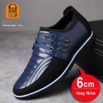Giày da tăng chiều cao 6cm GL216