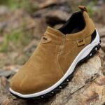 Giày lười dã ngoại da lộn GL138