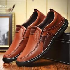 Giày lười nam da bò GL107
