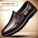 Giày lười nam da bò GL180