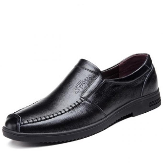 Giày lười nam da bò GL182