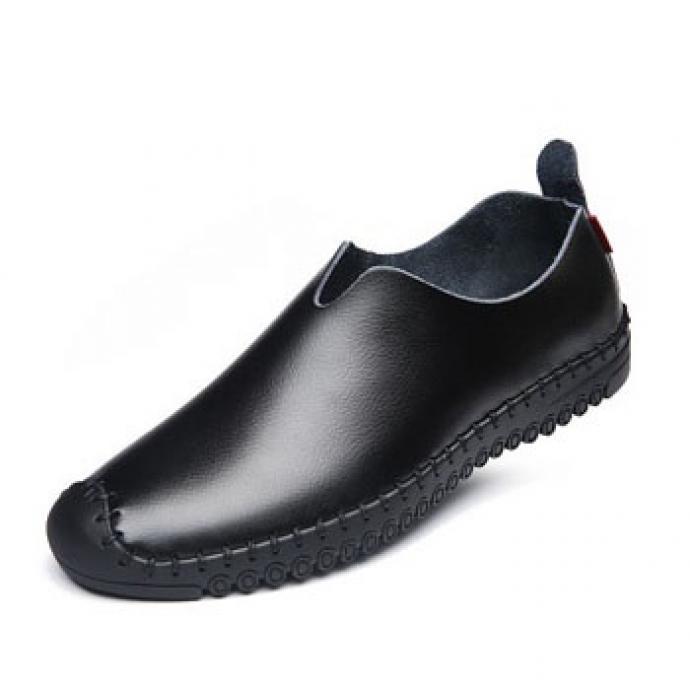 Giày lười nam da bò GL57