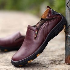 Giày lười nam da bò GL71
