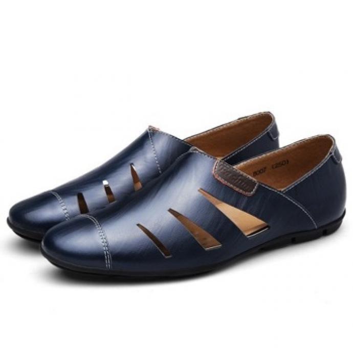 Giày lười nam thoáng khí GL64