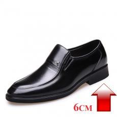 giày da công sở tăng chiều cao 6cm PR27