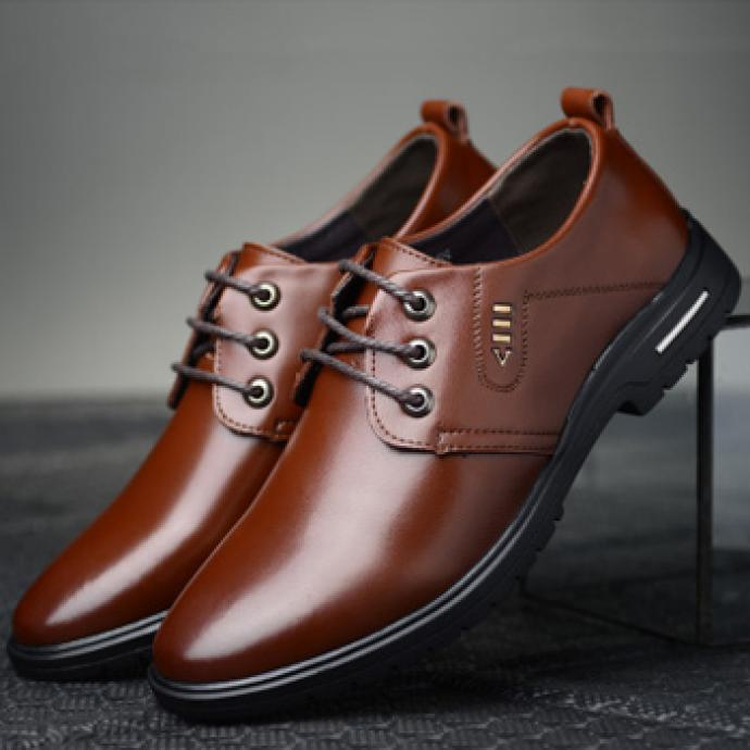 Giày nam da bò GL203