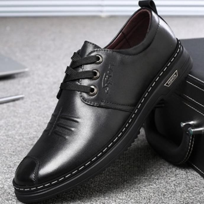 Giày nam da bò GS171