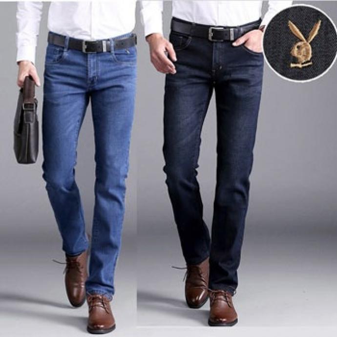 Quần Jeans nam ống suông QN06